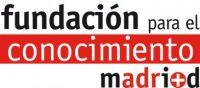 Logo fundacion para el conocimiento madrid